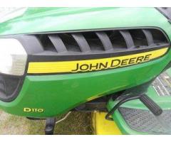 Traktorek kosiarka John Deere z USA